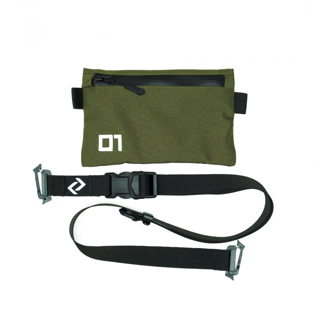 Olive Green Cell Phone Bag